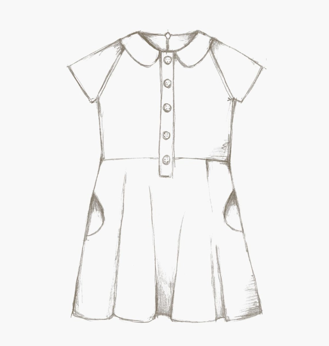 Dress Sewing Patterns The Ileana Dress Children Pdf Sewing Pattern Compagnie M