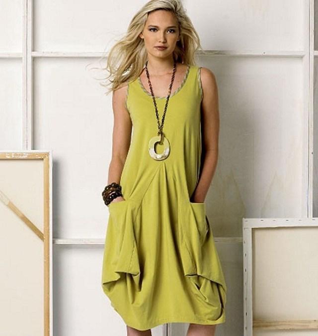 Dress Sewing Patterns Vogue March Tilton Sewing Pattern Misses Loose Dress Jacket Sxm