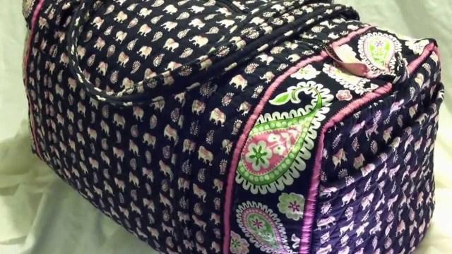 Duffle Bag Sewing Pattern Vera Bradley Large Duffle Bag Pink Elephants Popular Pattern