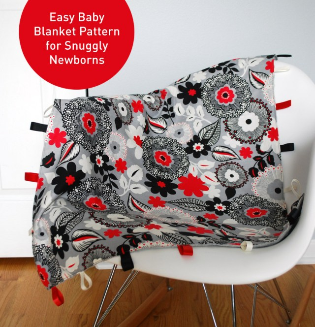 Easy Baby Blanket Sewing Patterns For Beginners Easy Diy Ba Blanket Pattern For Snuggly Newborns Merriment Design