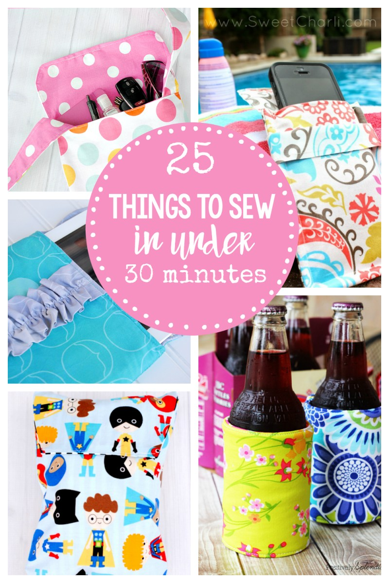 Easy Sew Patterns Easy Sewing Patterns 25 Things To Sew In Under 30 Minutes