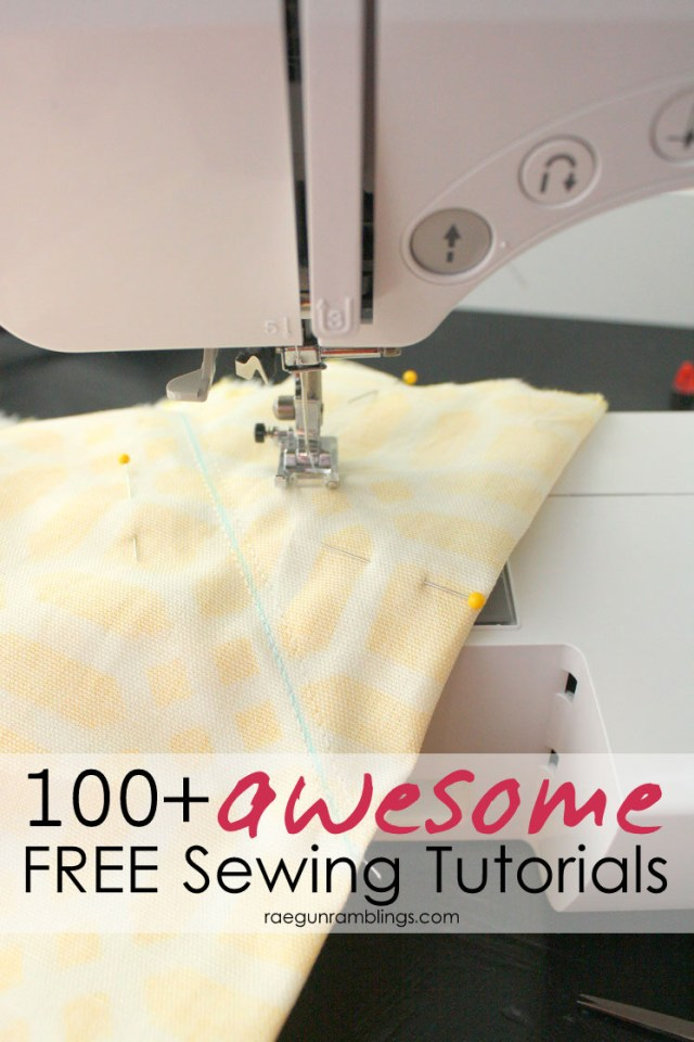 Easy Sewing Patterns For Beginners Best Fast And Easy Sewing Tutorials And Inspiration Rae Gun Ramblings