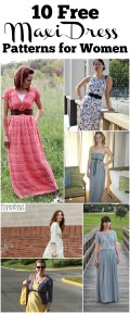 Easy Sewing Patterns Free 10 Free Maxi Dress Patterns And Sewing Tutorials