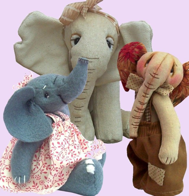 Elephant Sewing Pattern Elephant Sewing Pattern Bundle Pcbangles