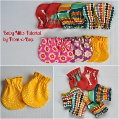 Free Baby Sewing Patterns Ba Shower Free Ba Mitts Pattern Gracious Threads