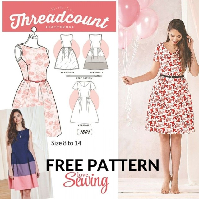 Free Patterns For Sewing 20 Gorgeous Free Sewing Patterns For Dresses Sewing Pinterest