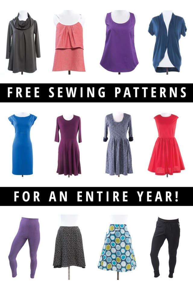 Free Patterns For Sewing Giveaway Win A Year Of Free Sewing Patterns Indiesew