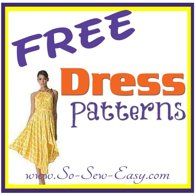 Free Plus Size Sewing Patterns Free Dress Patterns Listing So Sew Easy