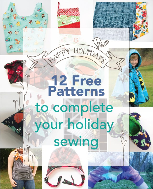 Free Sewing Pattern Holiday Gifts Free Sewing Pattern Roundup