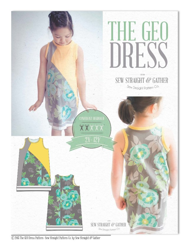 Free Sewing Pattern The Geo Dress Available Now Free My Patterns Pinterest