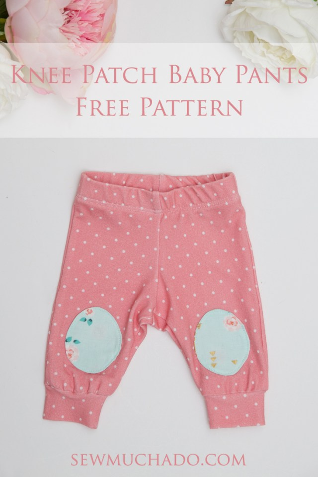 Free Sewing Patterns For Baby Knee Patch Ba Pants Free Pattern With The Cricut Maker Sew Much Ado