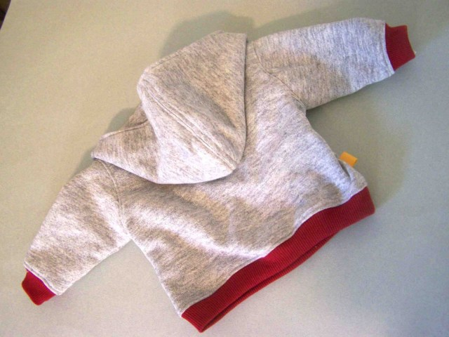 Free Sewing Patterns For Baby Made Me Shared With You Lapped Front Infant Hoodie Tutorial