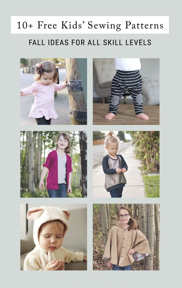 Free Sewing Patterns For Kids Free Sewing Patterns For Kids For Fall Shrimp Salad Circus
