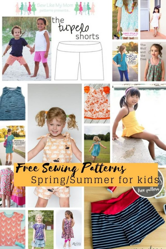 Free Sewing Patterns For Kids Free Sewing Patterns For Kids Springsummer 2018 Life Sew Savory