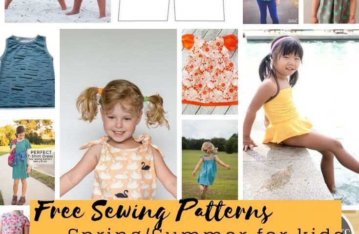 Free Sewing Patterns For Kids Free Sewing Patterns For Kids Springsummer 2018 Life Sew Savory