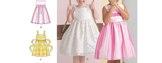 Girls Sewing Patterns Girls Dress Simplicity Sewing Pattern 8351 Sew Essential