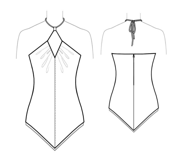 Halter Neck Sewing Pattern Bootstrapfashion Designer Sewing Patterns Affordable Trend