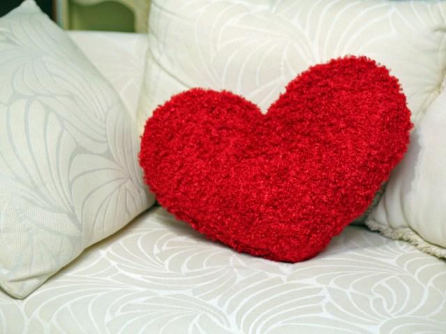 Heart Pillow Sewing Pattern 51 Heart Pillow Heart Pillow Red Pillow Pillow Case Patchwork