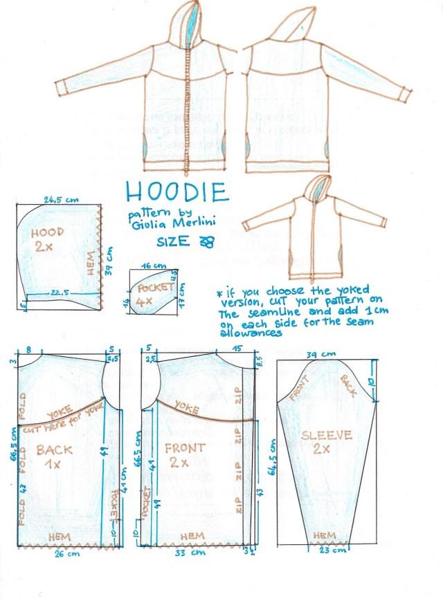 Hoodie Sewing Pattern Hoodie Sewing Pinterest Sewing Sewing Patterns And Pattern