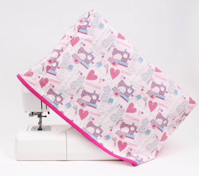 How To Make A Sewing Pattern How To Make A Sewing Machine Cover Hobcraft Blog