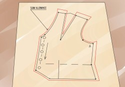 How To Make A Sewing Pattern How To Make Sewing Patterns That Fit 8 Steps With Pictures