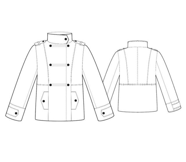 Jacket Sewing Patterns Bootstrapfashion Designer Sewing Patterns Affordable Trend