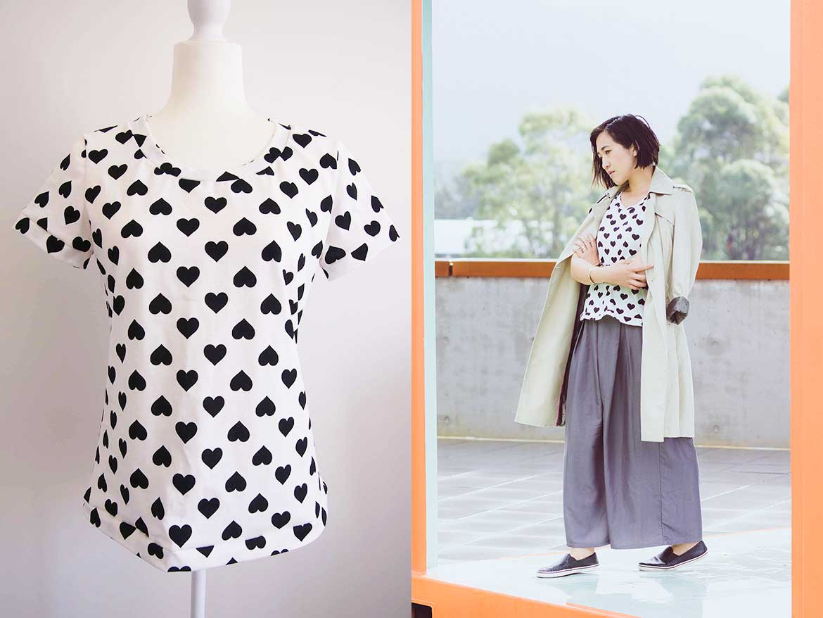 Japanese Sewing Patterns Japanese T Shirt Pattern To Give Your Serger A Workout Sew In Love