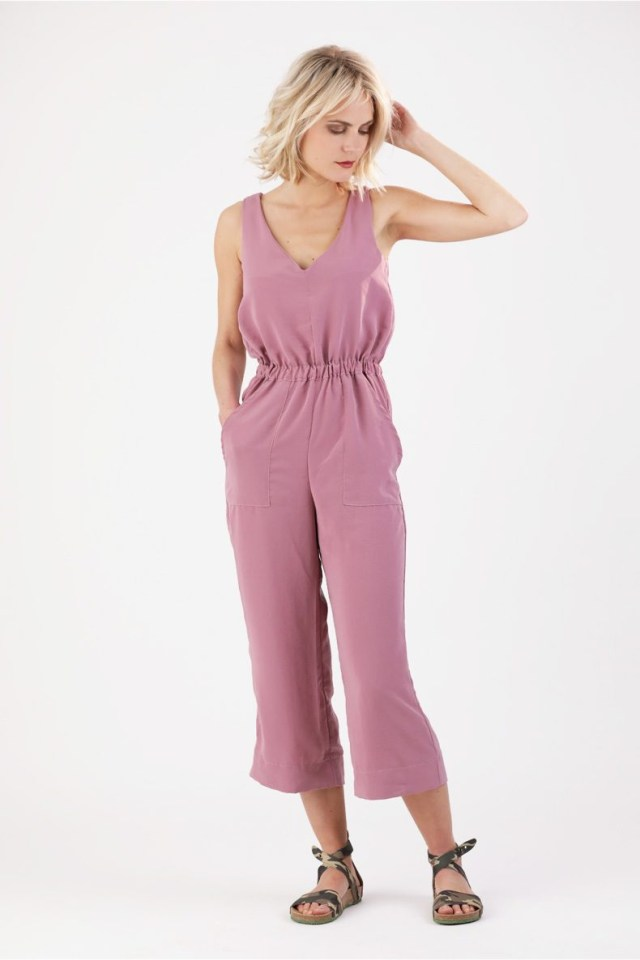 Jumpsuit Sewing Pattern Learn How To Sew A Summer Jumpsuit Sewing Pattern Carla Jumpsuit
