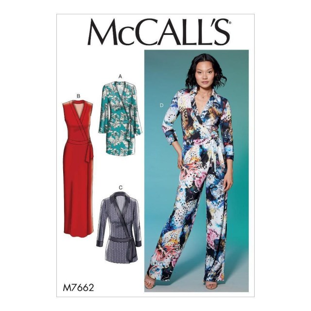 Jumpsuit Sewing Pattern Mccall S Sewing Pattern Misses Dresses Romper Jumpsuit Knit 6 22