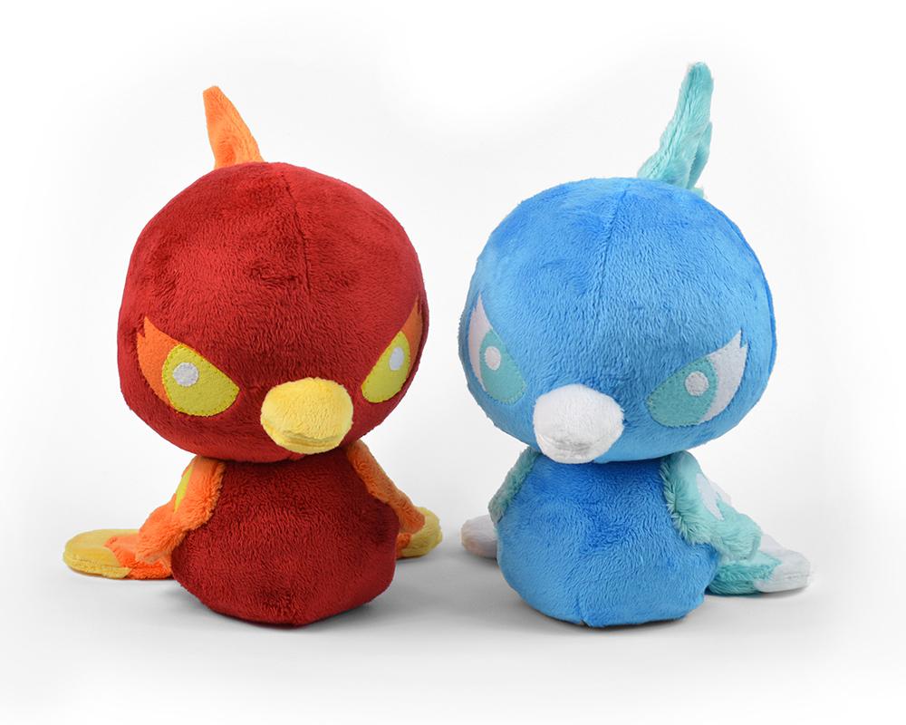 Kawaii Sewing Patterns Ba Phoenix Bird Plush Toy Sewing Pattern