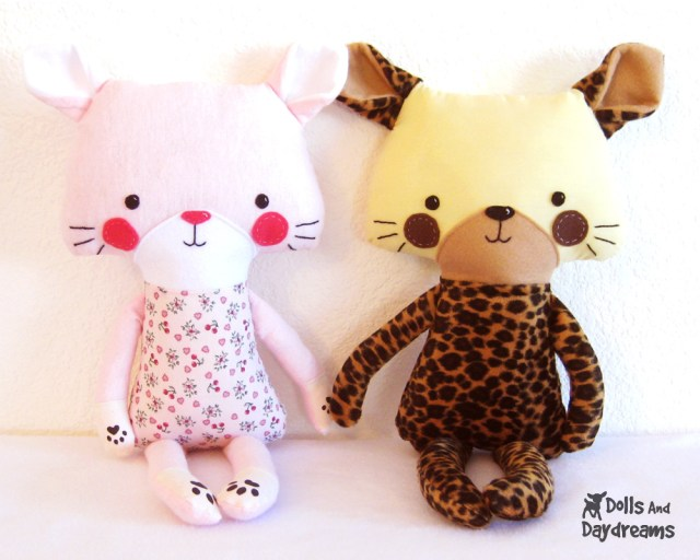 Kawaii Sewing Patterns Cat Tiger Leopard Kawaii Kitty Kitten Pdf Sewing Pattern 1 Flickr