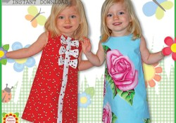 Kids Patterns Sewing Daughters Adele Sewing Pattern For Children Free Mother Daughter Apron Etsy