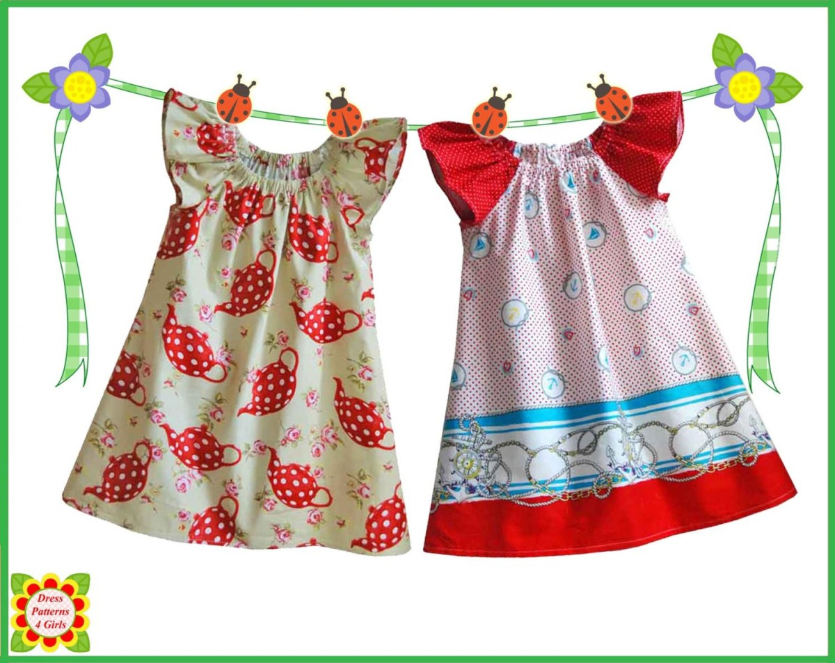 Kids Patterns Sewing Free Cecilia Sewing Pattern For Children Free Mother Daughter Etsy
