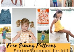 Kids Patterns Sewing Free Sewing Patterns For Kids Springsummer 2018 Life Sew Savory