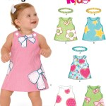 Kids Patterns Sewing New Look 6576 Babies Dress Sewing Pattern