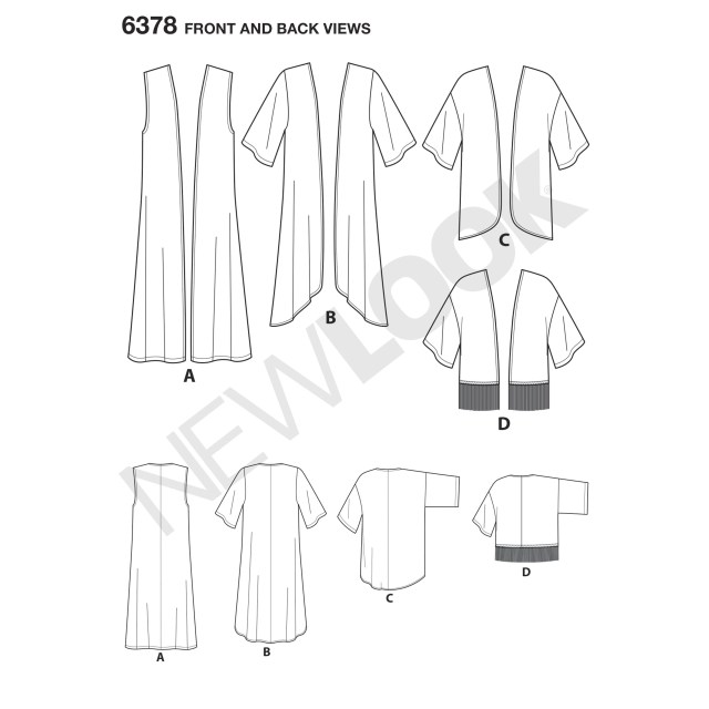 Kimono Sewing Pattern This Easy Kimono Pattern Includes Long And High Low Kimono And Short