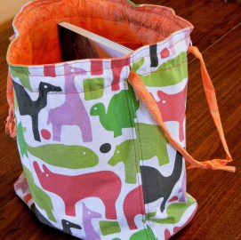 Knitting Bag Sewing Pattern Projects Knitting Bag Tutorial Perfect Project Bag For Knitting Or Crochet