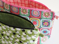 Knitting Bag Sewing Pattern Projects Project Bag Tutorial Betsy Makes