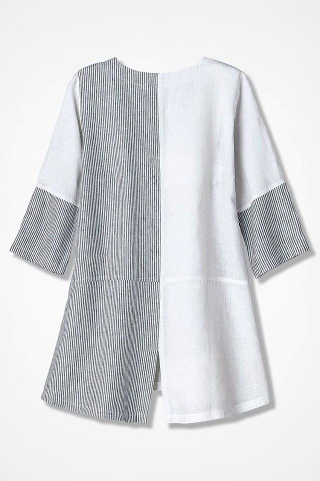 Linen Tunic Sewing Pattern Pattern Block Linen Tunic Coldwater Creek Fashion Plus Sizes