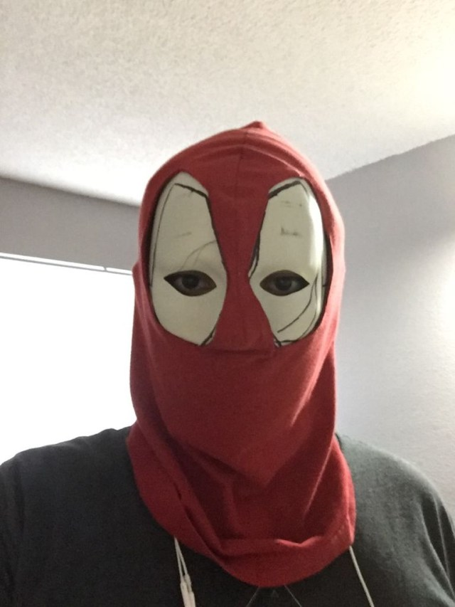 Mask Sewing Pattern Deadpool Mask 6 Steps With Pictures