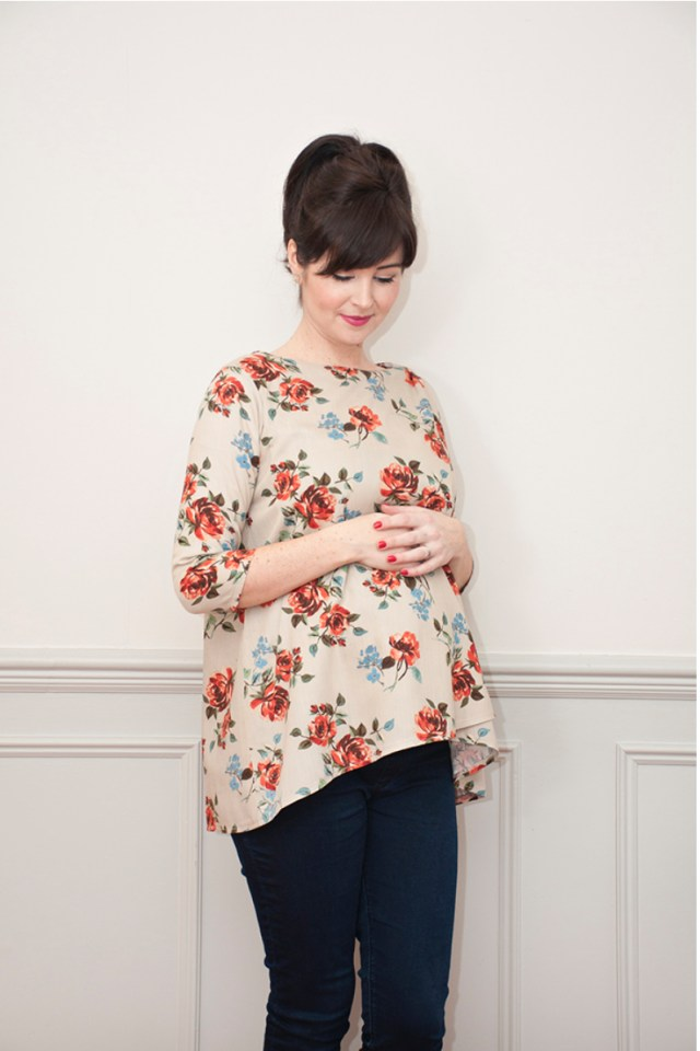Maternity Sewing Patterns The Lily Top Maternity Sewing Pattern Sew Over It Available On