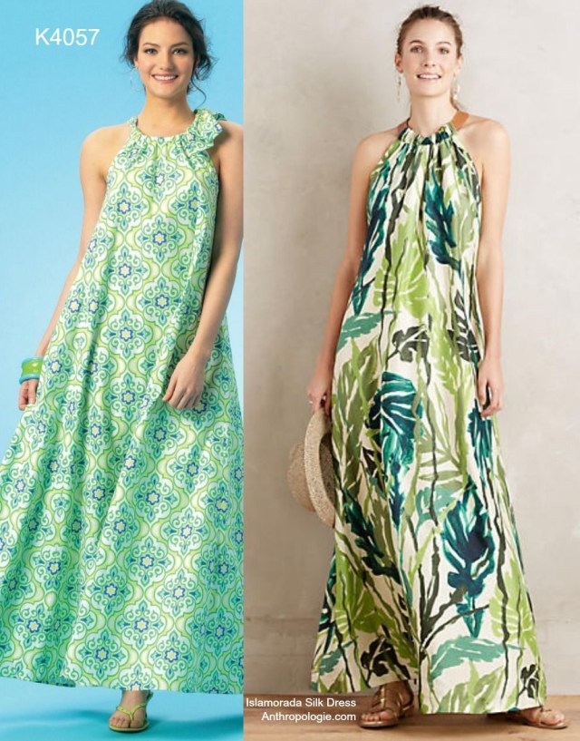 Maxi Dress Sewing Pattern Sew The Look The Easiest Comfiest And Chicest Maxi Dress Pattern