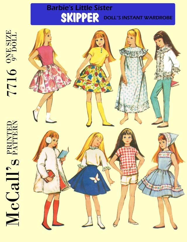 Old Sewing Patterns Pdf Vintage Doll Sewing Pattern Buggsbooks