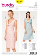 Pattern Design Sewing Dresses Burda Style Sewing Pattern 6530 Misses Top Shift Dress