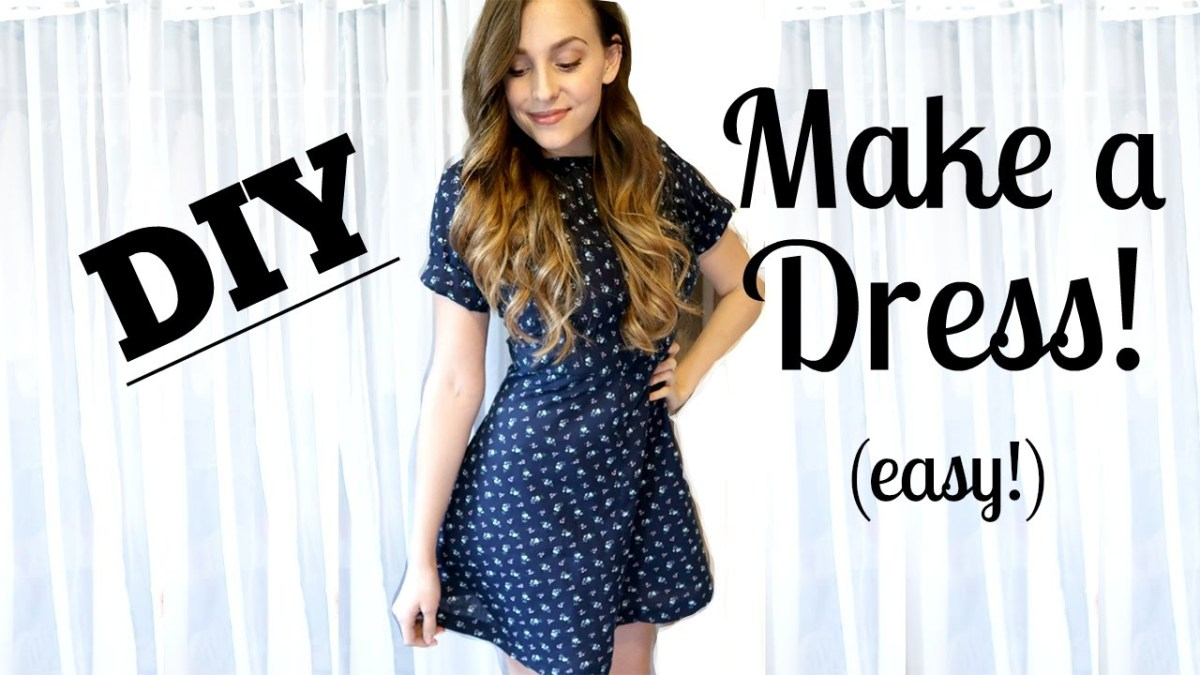 Pattern Design Sewing Dresses How To Sew A Dress From Scratch Easy Jessica Shaw Youtube