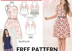 Pattern Free Sewing 20 Gorgeous Free Sewing Patterns For Dresses Sewing Sewing