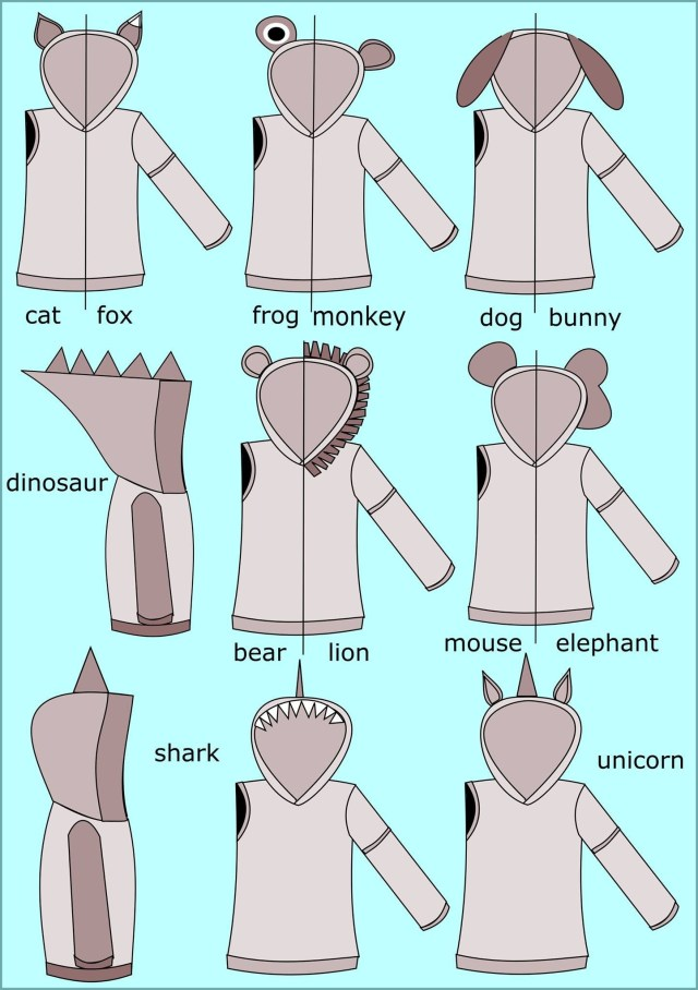 Patterns For Sewing All Ears Hoodie Sewing Pattern Pdf Sewing Pinterest
