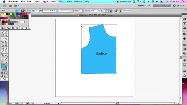 Patterns For Sewing How To Use Adobe Illustrator To Create Sewing Patterns Basic Tools
