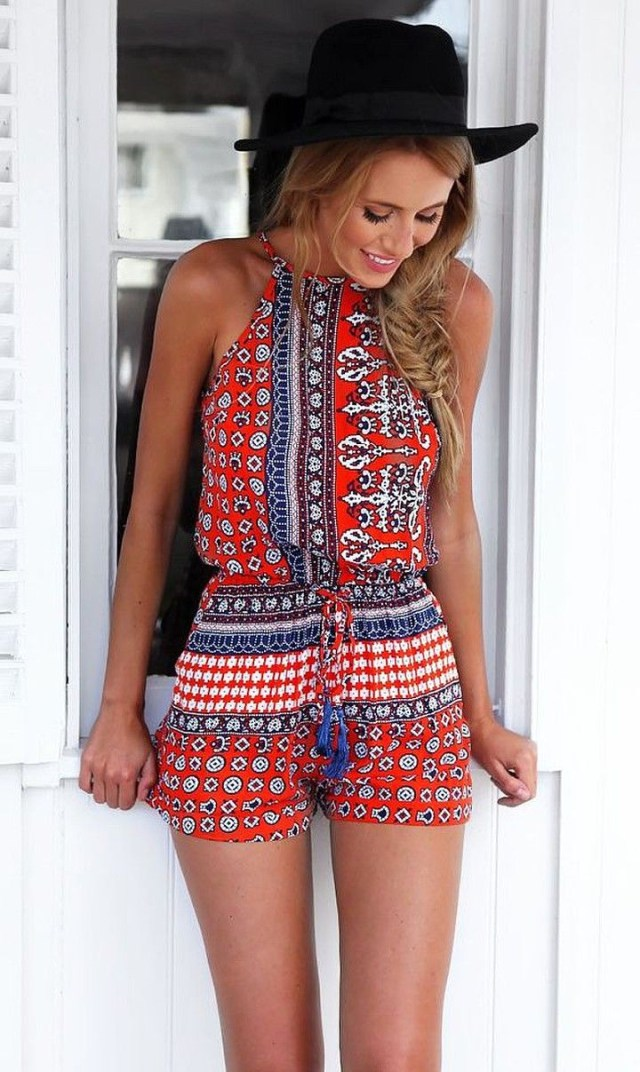 Playsuit Pattern Sewing How To Sew A Romper Free Pattern And Video Tutorial Someday I