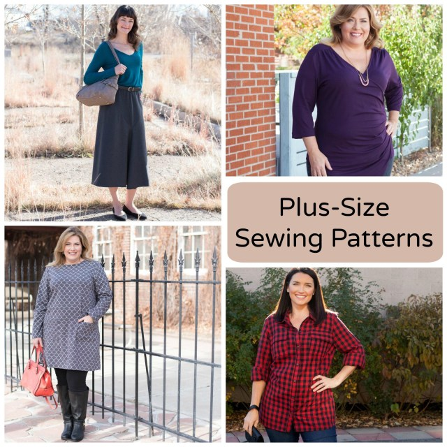Plus Size Sewing Patterns 7 Plus Size Sewing Patterns Youll Love Sewing Pinterest